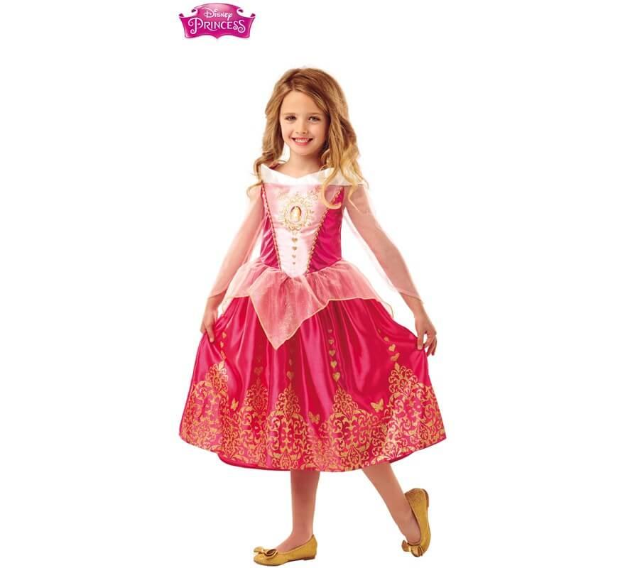 Disfraz De Bella Durmiente Deluxe De Disney Para Nina