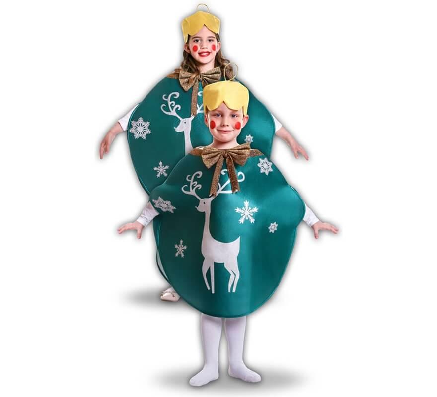 Disfraz de bola de navidad verde para ni os - Disfraces para ninos de navidad ...