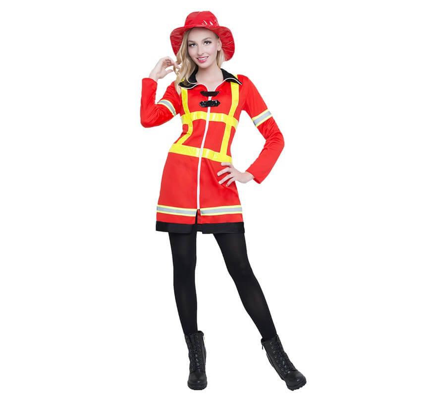 disfraces mujer bombero