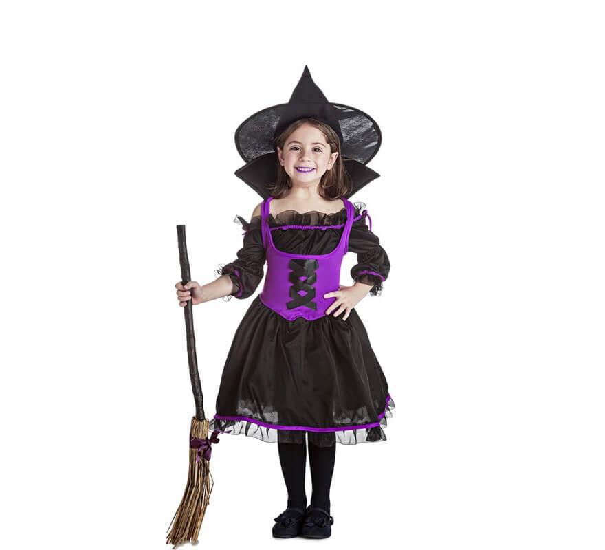 Disfraces De Brujas Y Hechiceros Para Nina Disfraz Halloween - Disfraz-de-bruja-para-bebe
