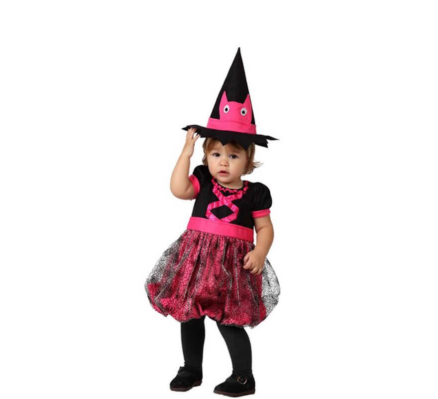 468799a03728 Costume da strega rosa per bambini