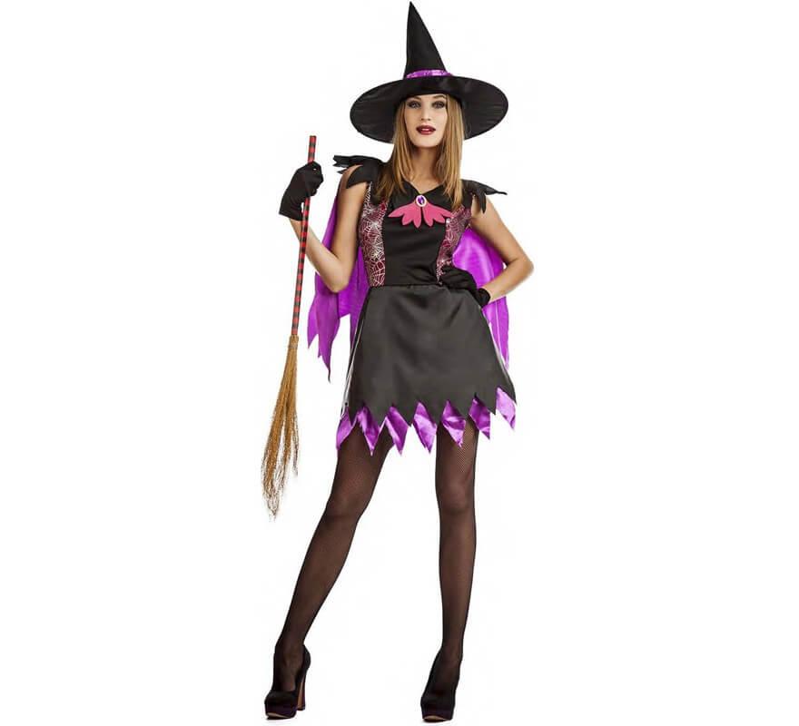 e7a61fa8e Disfraz de Bruja Telarañas para mujer