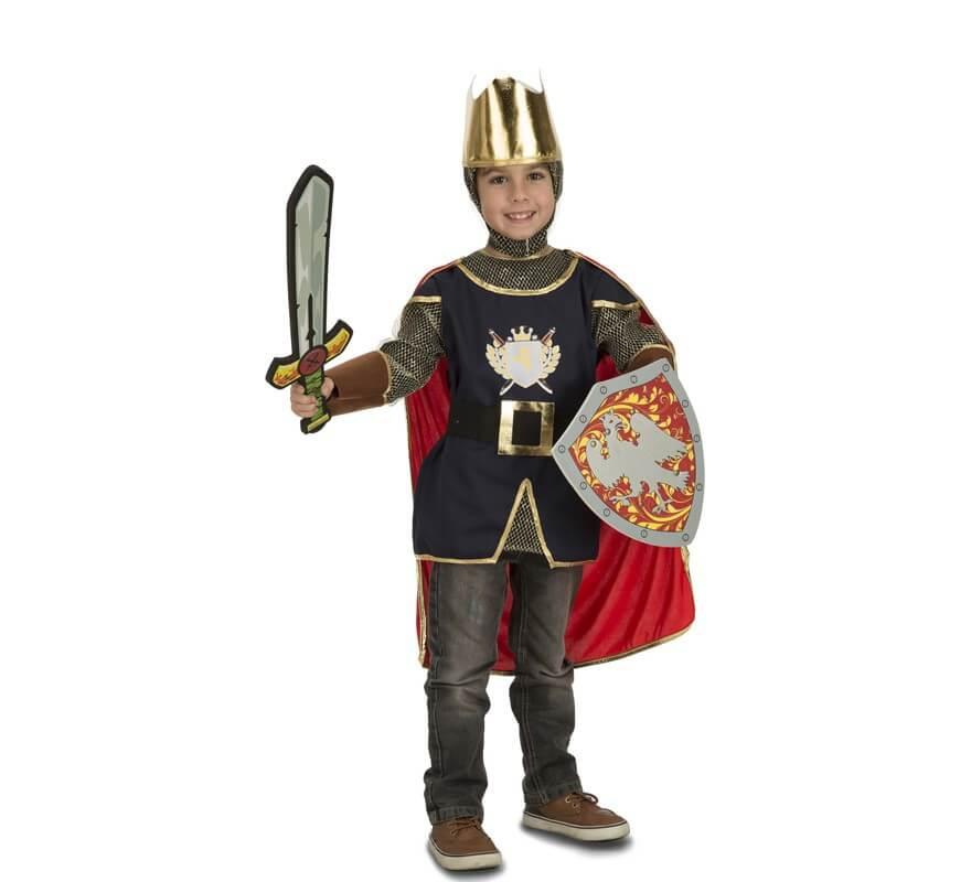7286a8303 Disfraz de Caballero Medieval con accesorios para niños