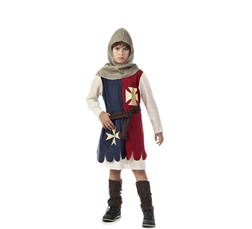 a3718d366 Disfraz de Caballero Medieval cruzado para niño