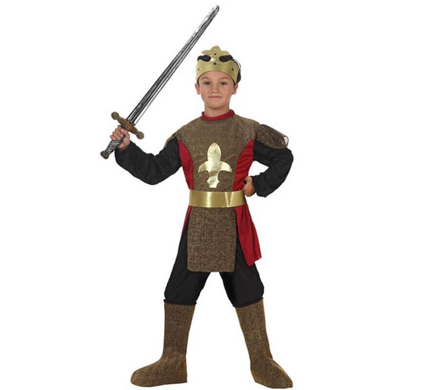 5ce329357 Disfraz de Caballero Medieval para niños