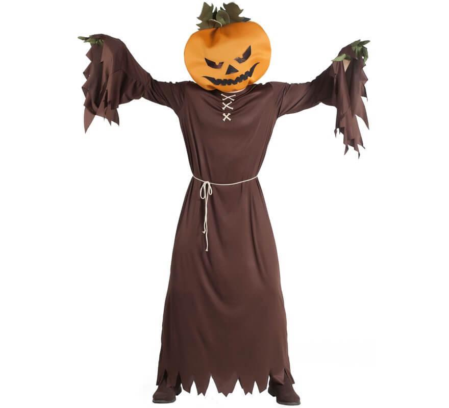 Disfraz De Calabaza Decoracion De Calabazas Especial Halloween - Calabaza-hallowen
