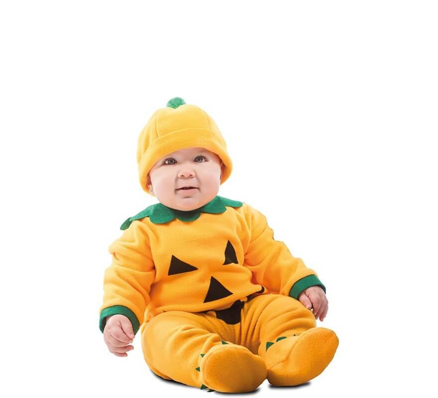 Disfraz de Calabaza Sonriente para beb