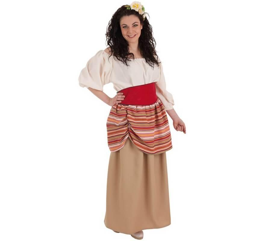 e1aea643b Disfraz de Campesina Carlota Medieval para mujer