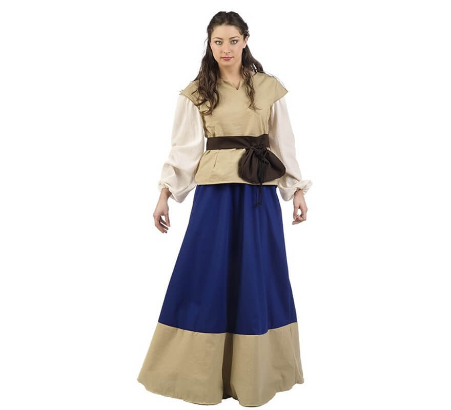 6393f35b22 Disfraz de Campesina medieval para mujer 08422802046376 - Disfrazzes ...