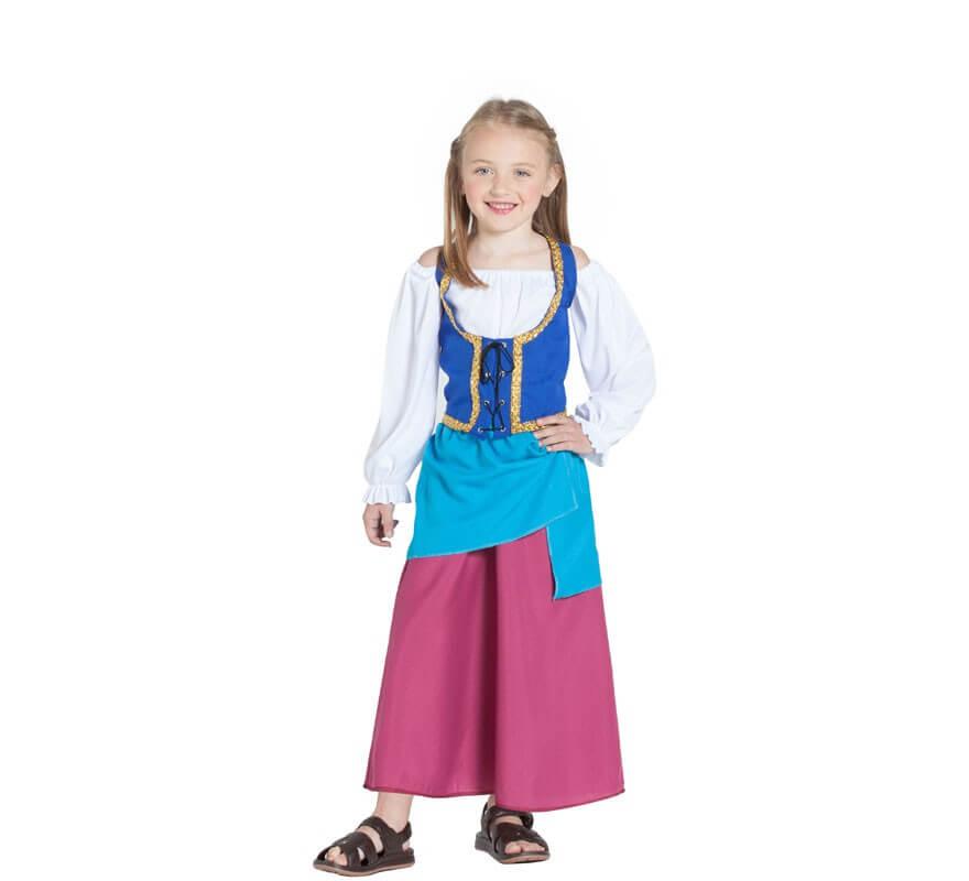 c49676fd6 Disfraz de Campesina Medieval para niña