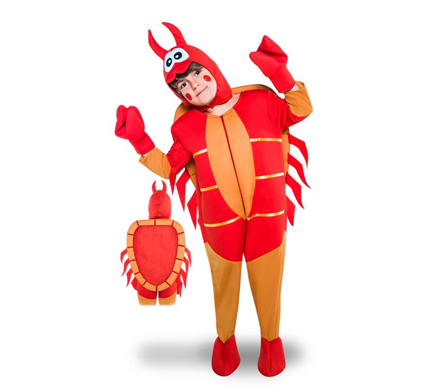 Disfraz De Cangrejo Para Ninos - Disfraz-de-cangrejo-nio