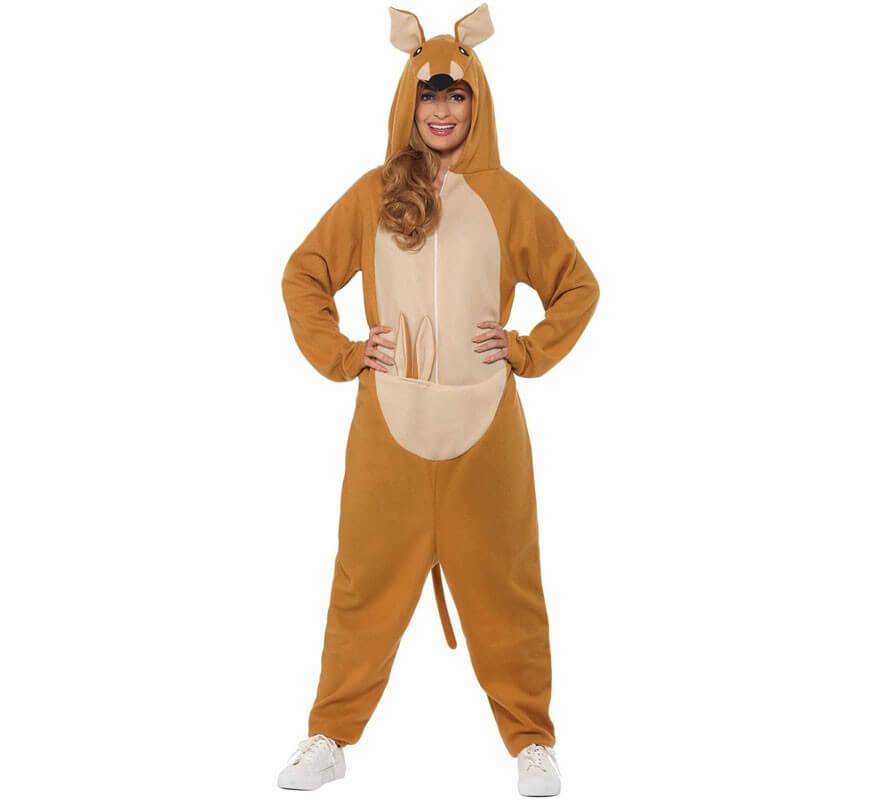 8fc262082 Disfraz de Canguro Marrón para adultos