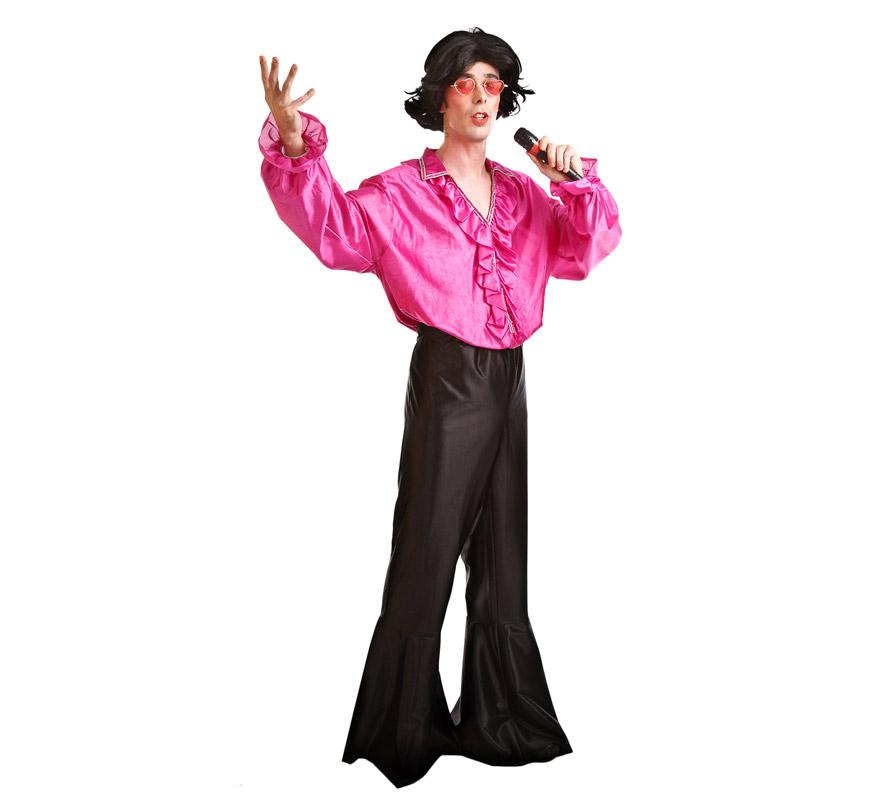 Disfraz de cantante de a os 60 para hombres for Disfraces de los anos 60