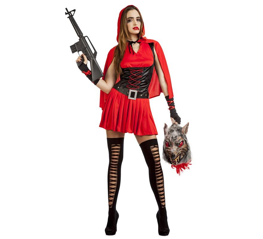 Disfraces Para Halloween De Caperucita Roja.Disfraz De Caperucita Roja Para Mujer Capa Roja 29 99