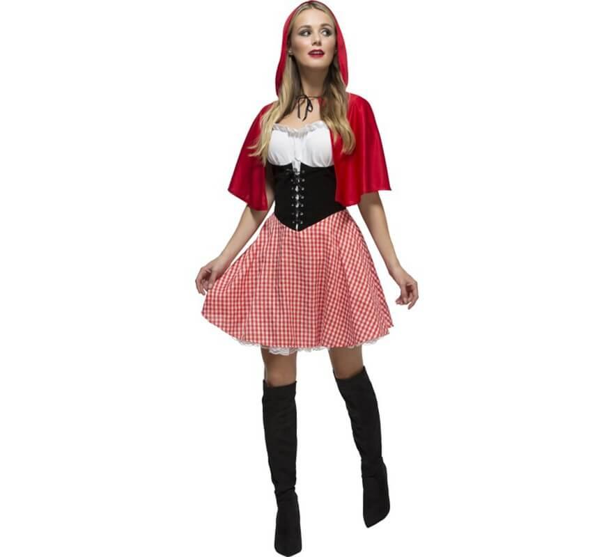 Disfraz de Caperucita Roja Corsé para mujer 3f91d339d4e0