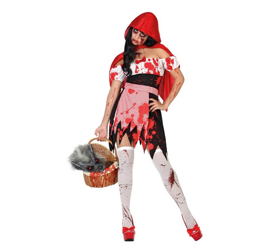 Disfraces Para Halloween De Caperucita Roja.Disfraz De Caperucita Sangrienta Para Mujer Para Halloween