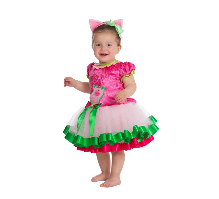 Disfraz de cerdita tut para beb s de 18 meses - Disfraces para bebes de un ano ...