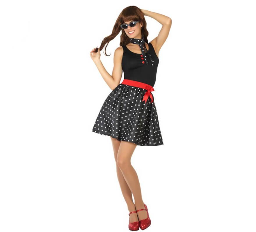 disfraz mujer los 50