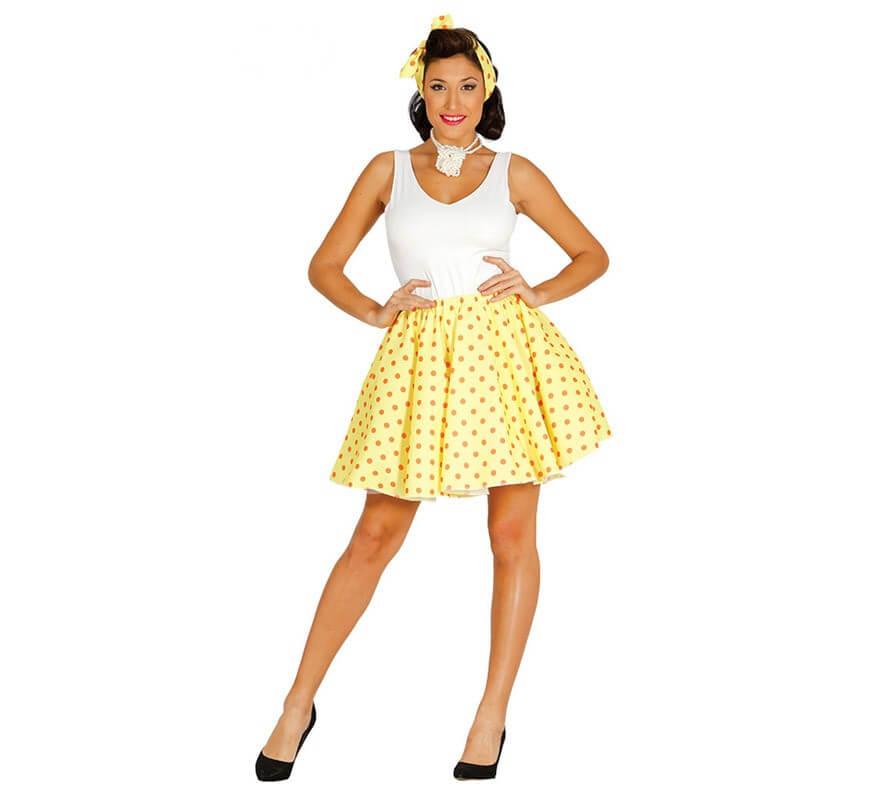 Disfraz de chica pin up de los a os 50 para mujer for Accessori moda anni 50