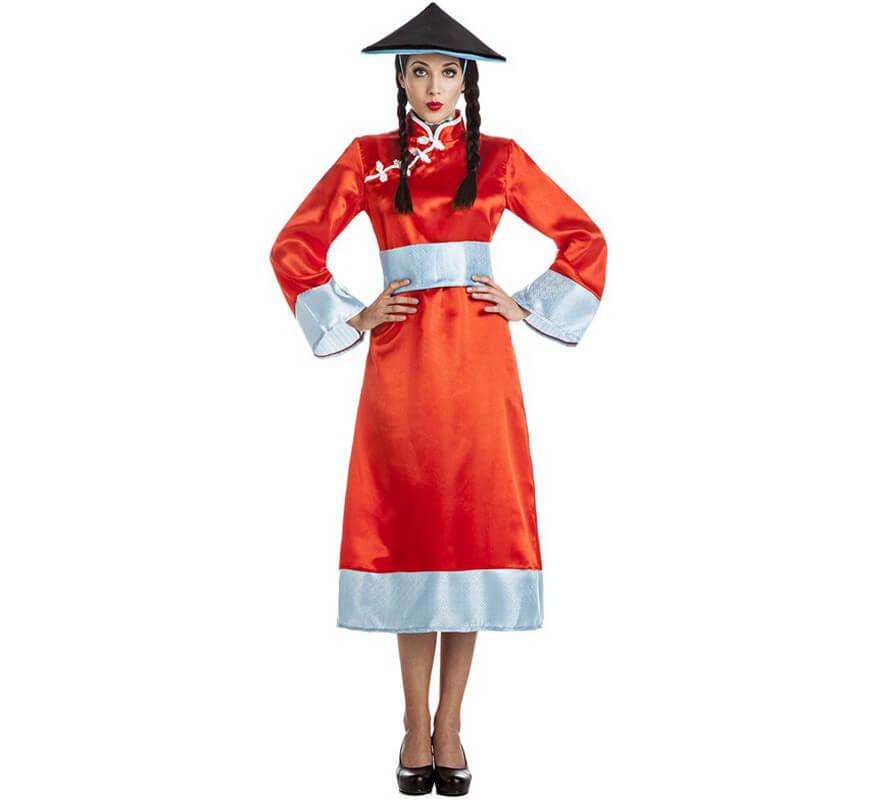 528722614f Disfraz de China Oriental para mujer