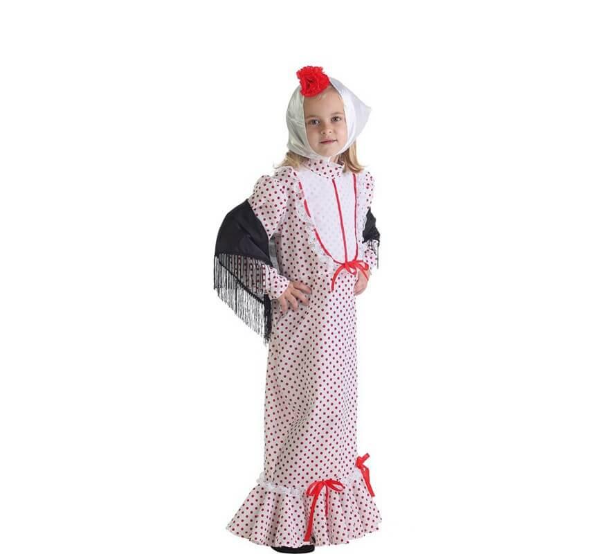 ab171a1c6 Disfraz de Chulapa coral madrileña para niña