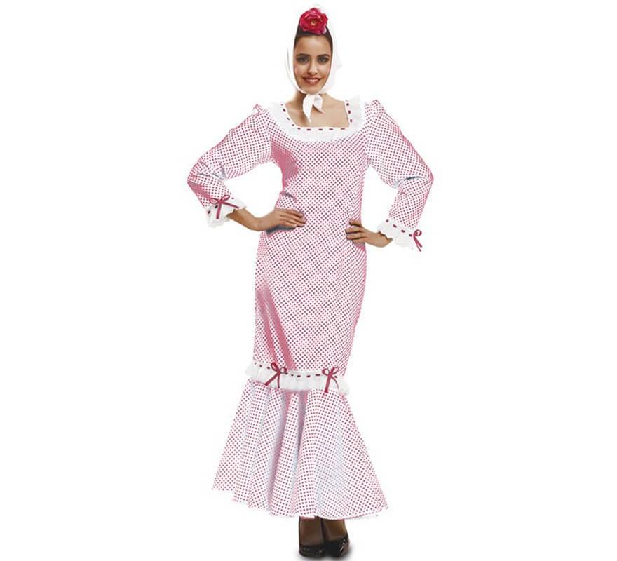 Disfraz Para Madrileña Chulapa Mujer De O Blanco wOqwF4xPA 8952773fbe6
