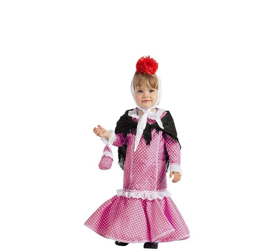 Chulapa Rosa Para Disfraz De Bebé CedrBoWQx