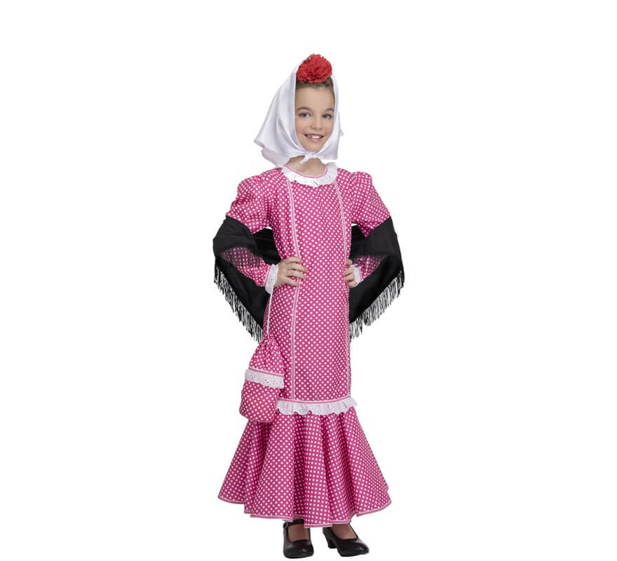 bbd029294 Disfraz de Chulapa Rosa para niña y bebé