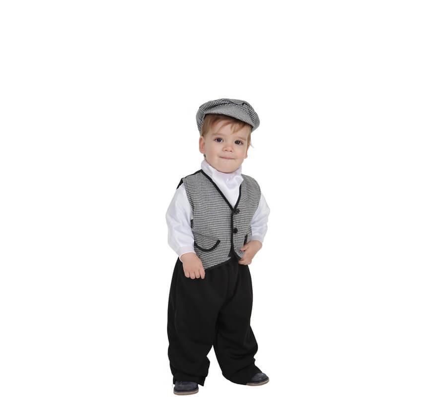663fbf5f4 Disfraz de Chulapo o madrileño para bebé