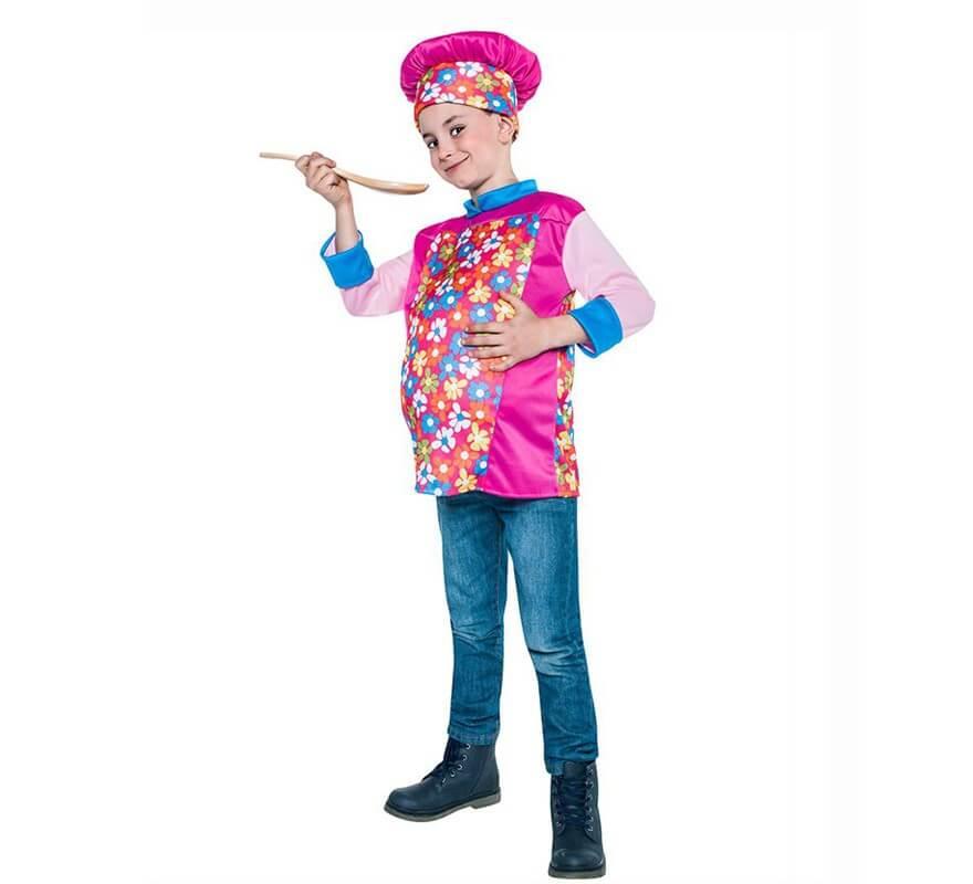 Disfraz de cocinero barrig n para ni o - Disfraz elfo nino ...