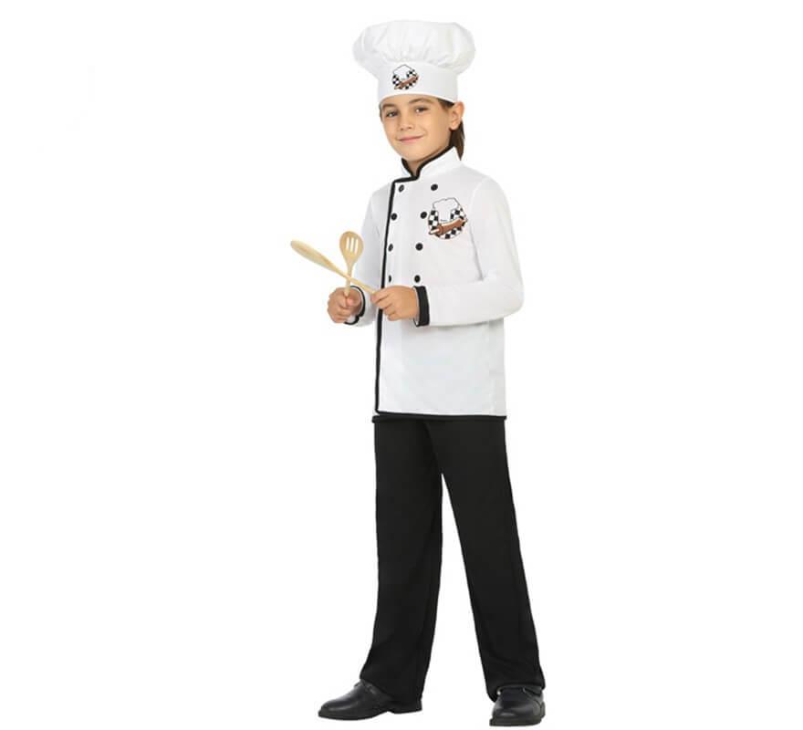 1e3a2a26d00 Disfraz de Cocinero Chef para niño