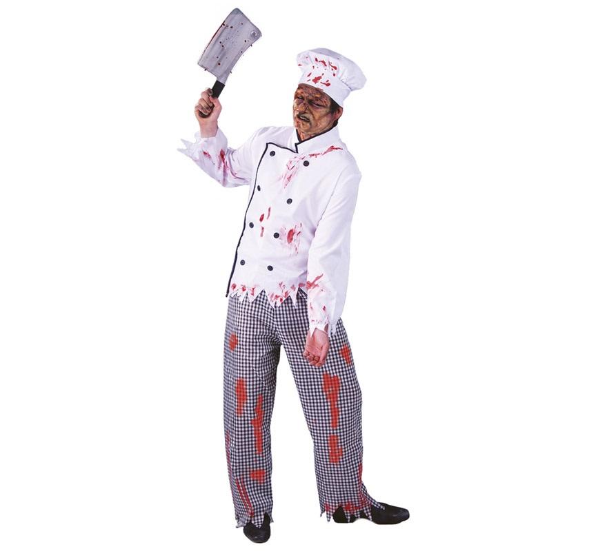 Disfraz de Cocinero Zombie para hombre