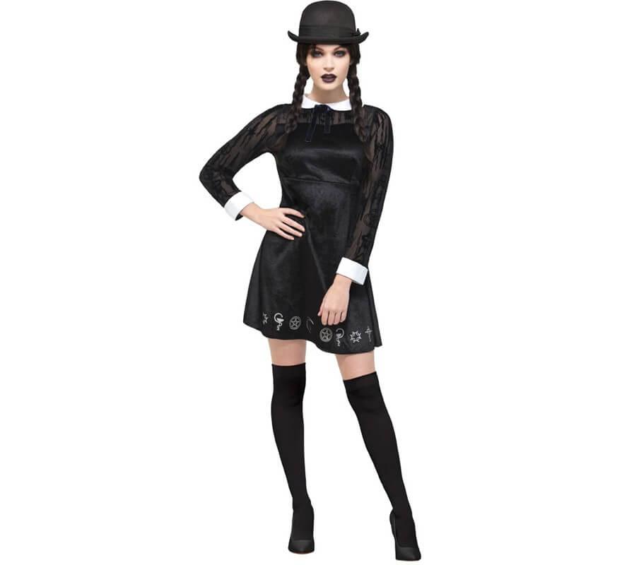 9cd1aea7e Disfraz de Niña tenebrosa Negro para mujer