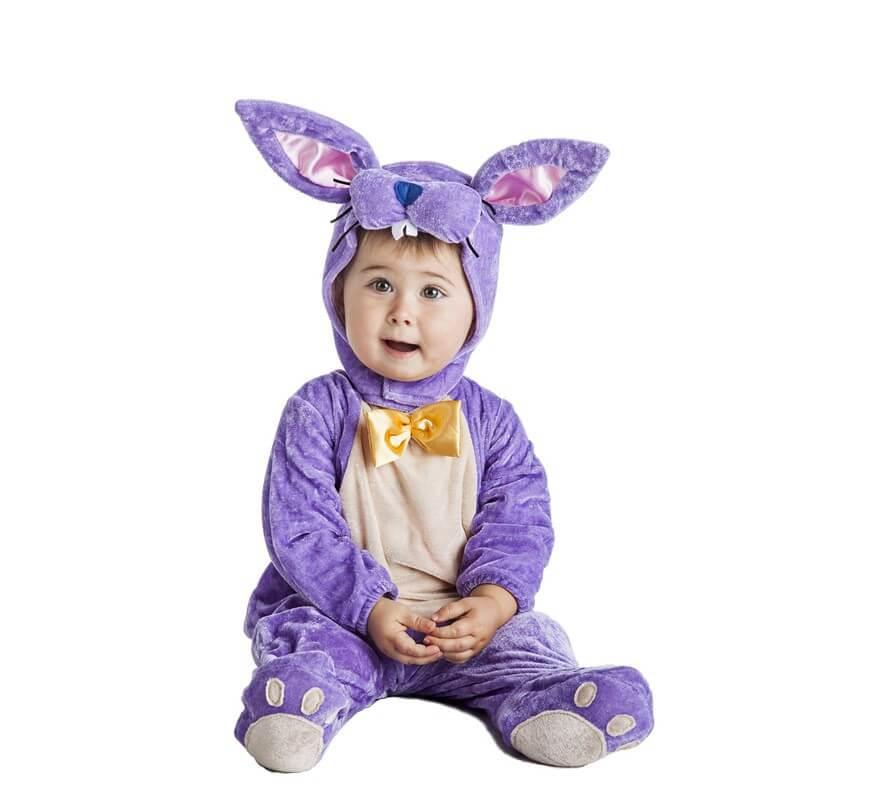 Para Disfraz Gris Conejo Bebé De fy76bg