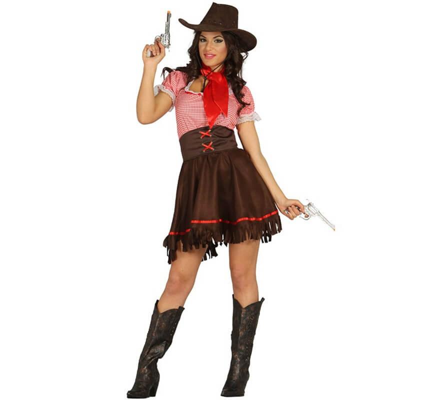 27ae33a94 Disfraz de Cowgirl o Vaquera para Mujer