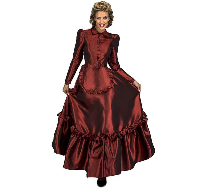 f06c1ef430 Disfraz de Dama del Oeste para mujer