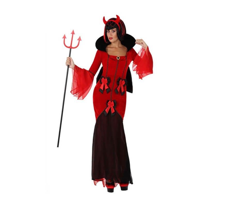 Lazos Tamaños Con Disfraz Varios Diablo Mujer De Para 8nwOX0Pk