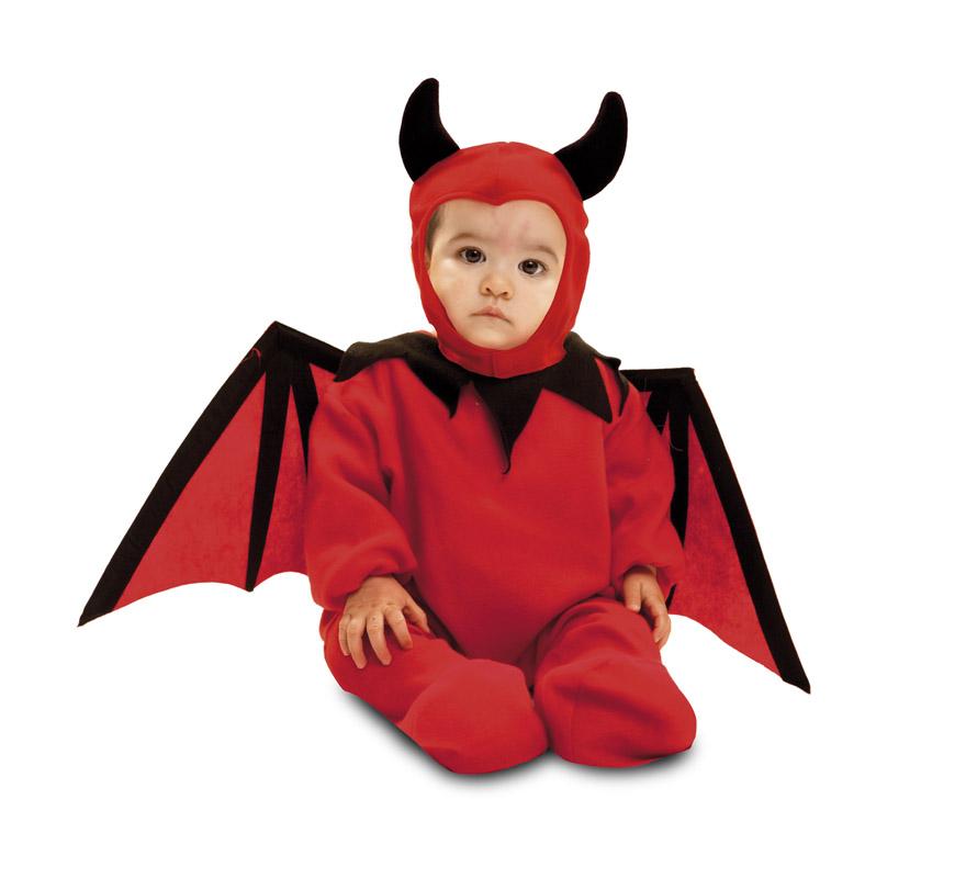 Disfraz de diablillo beb para beb s de 7 a 12 meses para halloween - Disfraces de halloween bebes ...