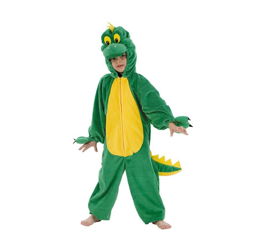 disfraz de dinosaurio verde para ni o
