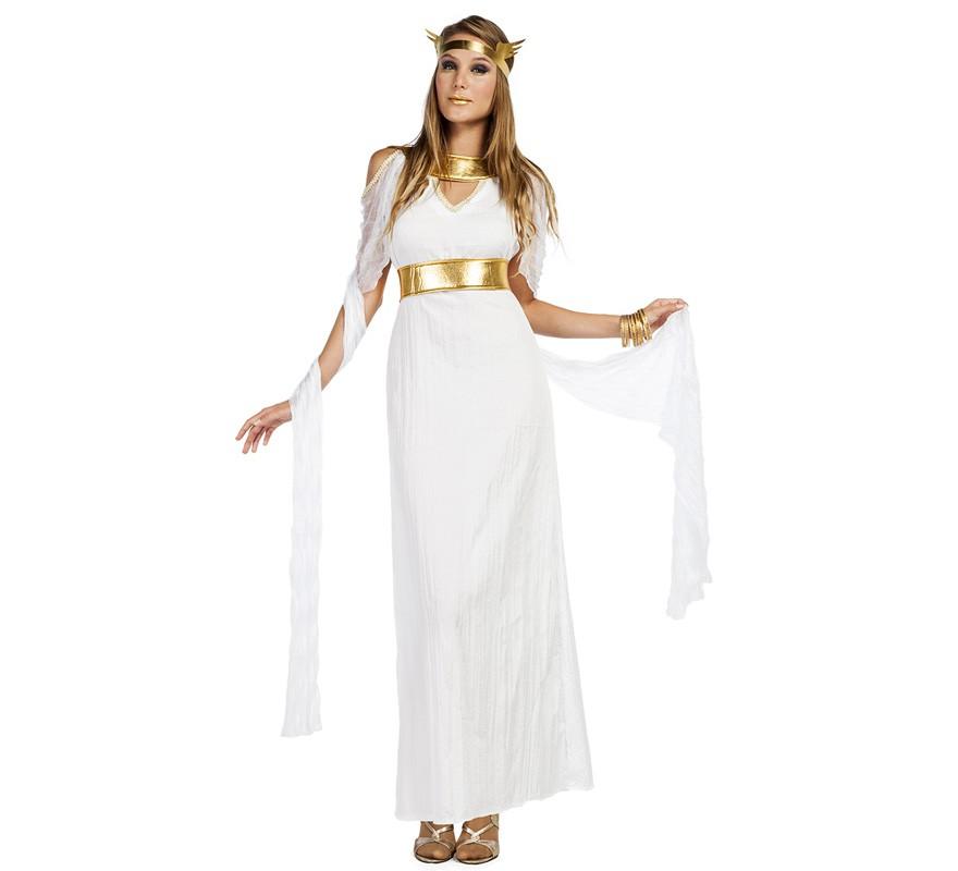 Vestidos Inspirados En La Cultura Griega: Disfraz De Diosa Largo Para Mujer