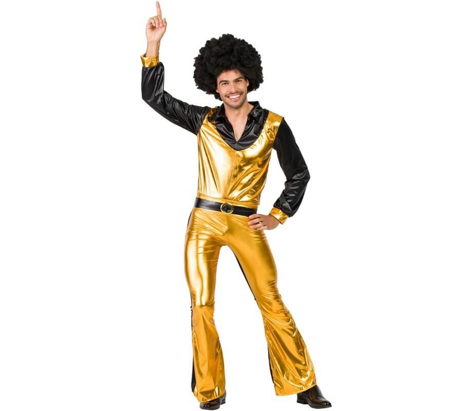 Disfraz de Disco Dorado para hombre