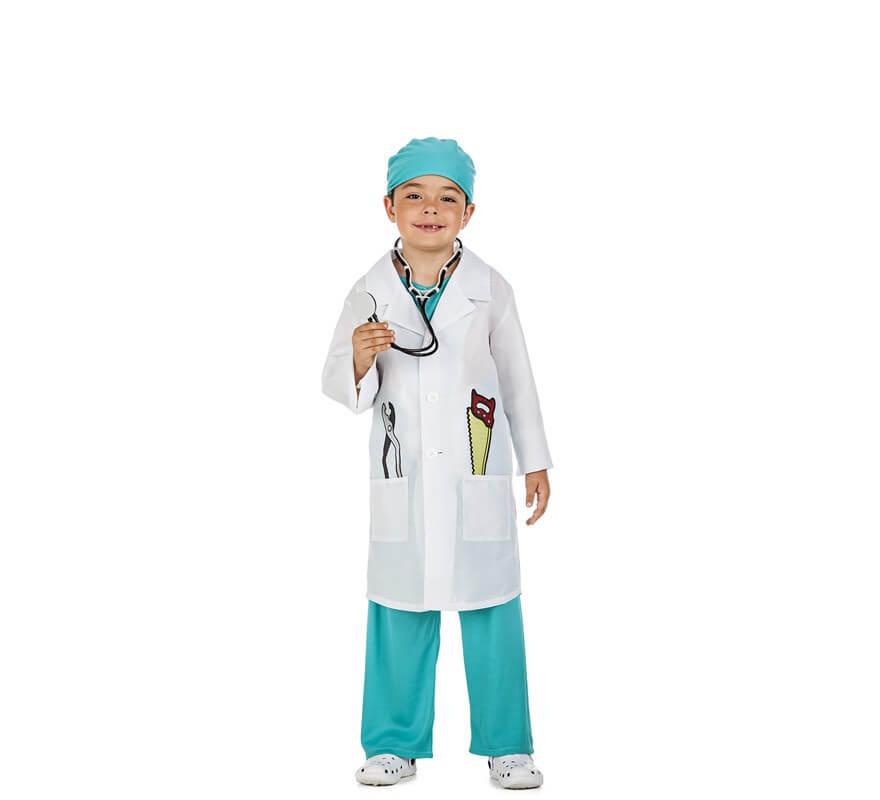 Disfraz de Doctor Cirujano para niño 21c5cff0e4a