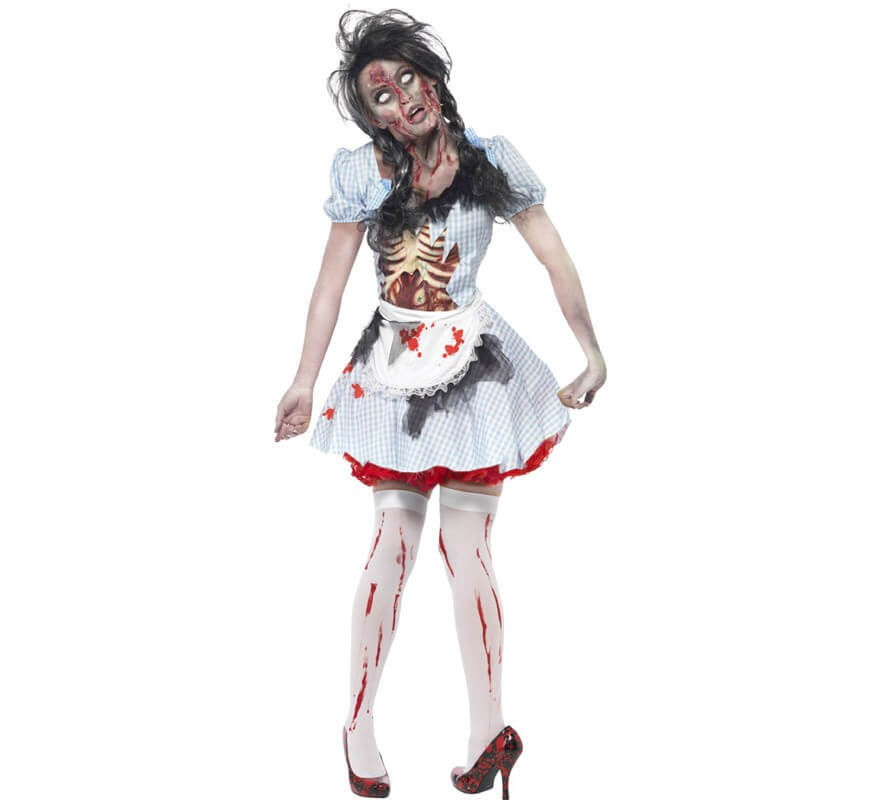 disfraces mujer zombie