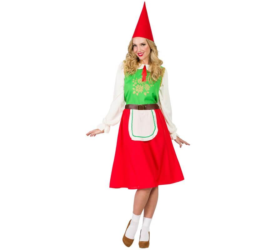 Disfraz de duende del bosque para mujer - Disfraces de duendes de navidad ...