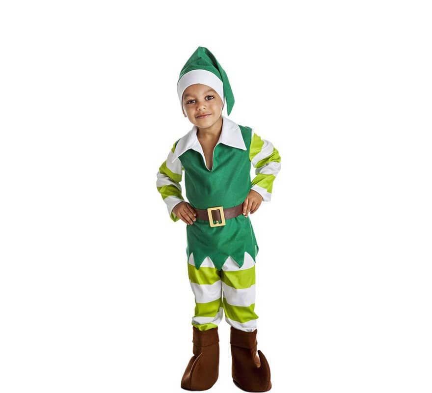 Disfraz de duende para ni os - Disfraces de duendes navidenos para ninos ...