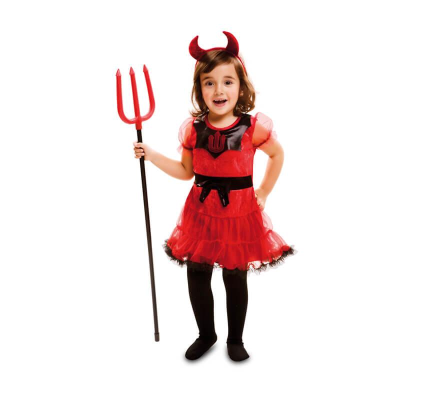 Disfraz de dulce diablesa para beb y ni as para halloween - Disfraz halloween bebe 1 ano ...