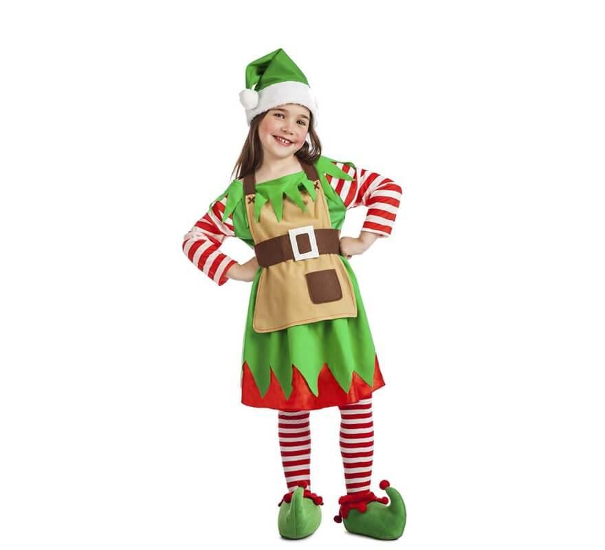 Disfraz de elfa de navidad para beb - Disfraces para navidad ...