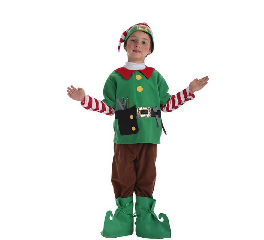 Disfraz de elfo ayudante de santa para ni o - Disfraz de santa claus para nino ...
