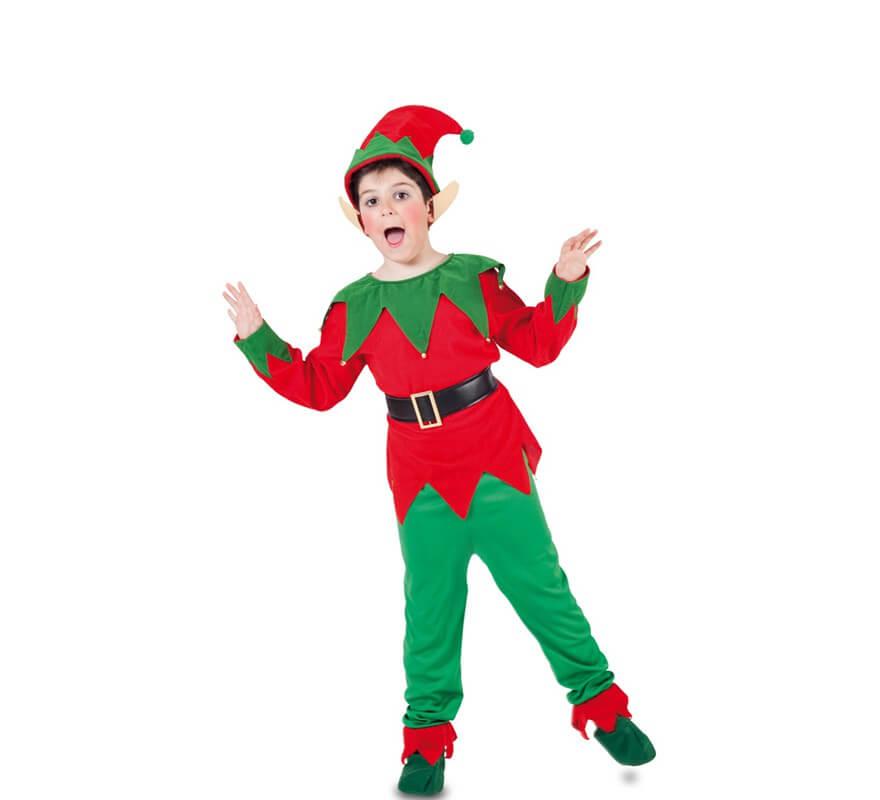 Disfraz de elfo con orejas para ni o - Disfraz nino navidad ...