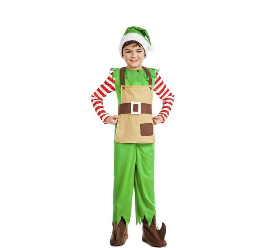 Disfraz de elfo de navidad para beb - Disfraz de navidad para bebes ...
